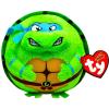 Ty. Plüss figura Beanie Ballz Lic 25 cm - Leonardo TMNT