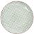 Retro tányér világos kék 25.4cm