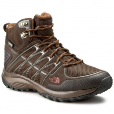 The North Face Bakancs THE NORTH FACE - Litewave Explore Mid Gtx T92T41NHS Demitasse Brown/Rudy Red