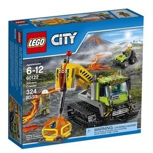 LEGO City - Vulkánkutató lánctalpas jármű (60122)