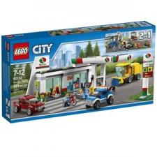 LEGO City Benzinkút (60132) lego