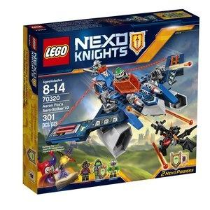 LEGO NEXO Knights Aaron Fox V2-es légszigonya