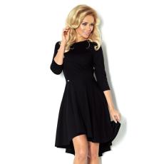saf Asszimetrikus ruha 90-3 fekete