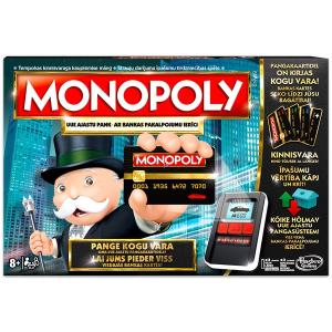 Hasbro Monopoly teljes körű bankolással