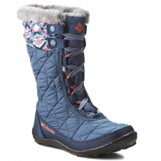 Columbia Hótaposó COLUMBIA - Youth Minx Mid II Waterproof Omni-Heat BY1336 Dark Mountain/Melonade 478