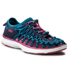 Keen Szandál KEEN - Uneek 02 1015482 Dress Blues/Very Berry