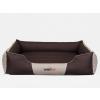 Hobbydog Comfort kutyaágy - barna és bézs - 140x115cm