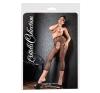 Cottell - aprószemű necc legging (fekete) harisnyatartó