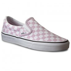 Vans Teniszcipő VANS - Classic Slip-On VN0004MPKLR (Checker Girls) Wnsmorc/Tw