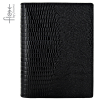 Goss Filofax Flex Lizard Pocket, Fekete