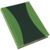 REALSYSTEM Prémium-A B5 heti beosztású határidőnapló, Zöld