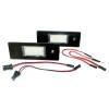 Einparts Alfa Romeo / Fiat / MINI rendszámtábla LED készlet