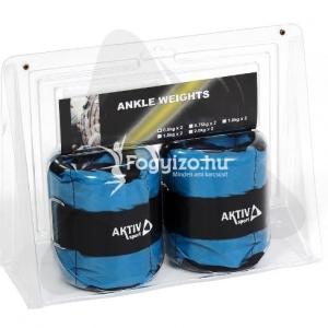 Aktivsport Csukló- és bokasúly 2x 0,5 kg kék Aktivsport