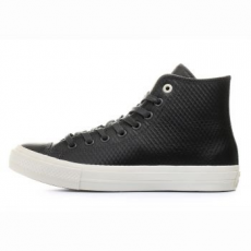 Converse Chuck Taylor All Star II Hi Leather férfi tornacipő, Almost Black / Parchment, 45 (153555C-049-11)
