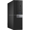 Dell Optiplex 3040 Small Form Factor | Core i3-6100 3,7|6GB|250GB SSD|0GB HDD|Intel HD 530|MS W10 64|3év