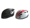 Kerékpáros sisak fehér/fekete méret M kerékpáros sisak