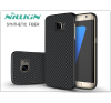 Samsung G935F Galaxy S7 Edge hátlap - Nillkin Synthetic Fiber - fekete tok és táska