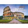 Falinaptár World Wonders 48,5x34 cm 2017.évi