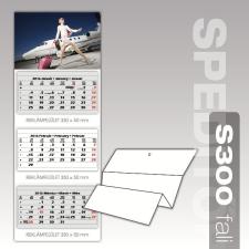 Speditőr naptár S300 3 tömbös 2017. évi naptár, kalendárium