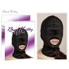 Orion - Bad Kitty Szájnál nyitott fekete maszk