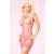 Pink Lipstick Lingerie Rózsaszín hálós mini ruha