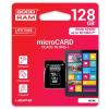 Goodram micro SDXC 128GB Class 10 +adaptér