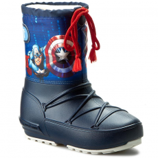 Moon Boot Hótaposó MOON BOOT - Pod Jr Cap. America 34020700001 Blu Navy/Rosso