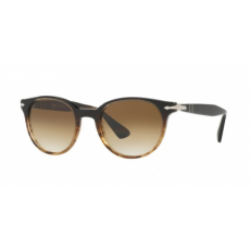 Persol PO3151S 102651 BROWN/BROWN STRIPED CLEAR GRADIENT BROWN napszemüveg