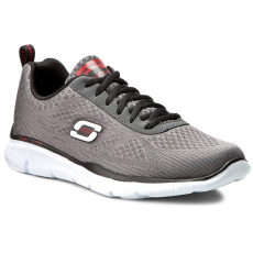 Skechers Cipők SKECHERS - Quick Reaction 51368/CCBK Charcoal/Black