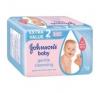 Johnson's baby popsitörlő 2 x 56 db gentle cleansing törlőkendő