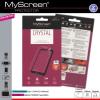 Myscreen Alcatel OT-720 Kijelzővédő Fólia 1db Áttetsző MSP