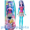 Barbie Csillagok között Kék baba Mattel
