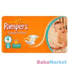 Pampers Sleep & Play 4 maxi pelenka (7-14 kg) 50db pelenka