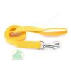 25 mm x 1,2 m nylon póráz füllel, normál karabínerrel sárga