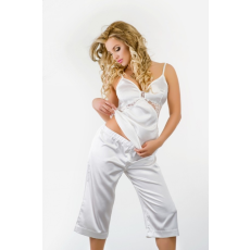 Kalimo Csipkés szatén pizsama Model Bahama ekrü
