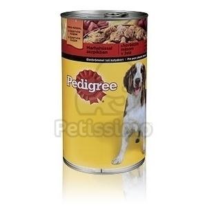 Pedigree konzerves eledel marhahússal aszpikban 400 g