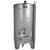 Zottel Zárt bor INOX tartály hűtőbordával 6400 l