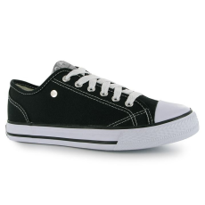 Dunlop női cipő - Dunlop Canvas Low Trainers