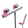 Tres Loft Colors egykaros zuhany csaptelep zuhanyszettel rózsaszín/króm 20016701FU