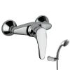 Tres Eco egykaros zuhany csaptelep zuhanyszettel 17016702 króm