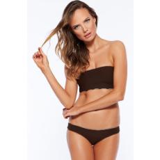 Sexy Barna Pántnélküli Bikini