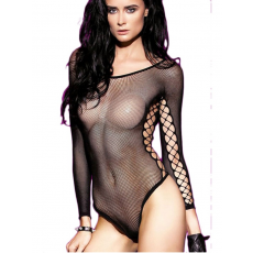 Sexy  Fekete Necc Body