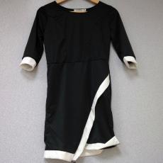 Fekete-fehér ruha- M