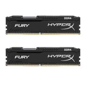 Kingston 8GB DDR4 2133MHz Kit (2x4GB) HyperX Fury Black Series Dual-channel memória