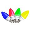 Globál Global Színes GYERTYA LED 5W E14 220-240V ̴ 50/60Hz 3000K