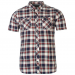 Firetrap férfi ing - Firetrap Blackseal York Check Shirt
