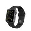 Apple Watch sport 38mm gray alu./ Black Band MJ2X2B/A