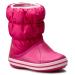 CROCS Hótaposó CROCS - Winter Puff Boot Kids 14613 Candy Pink