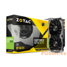ZOTAC GeForce GTX1070 8GB DDR5 Mini videókártya