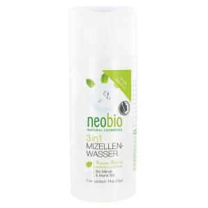 Neobio Neobio 3 az 1-ben Micellás arctisztító víz Bio mentakivonattal és tengeri sóval 150 ml